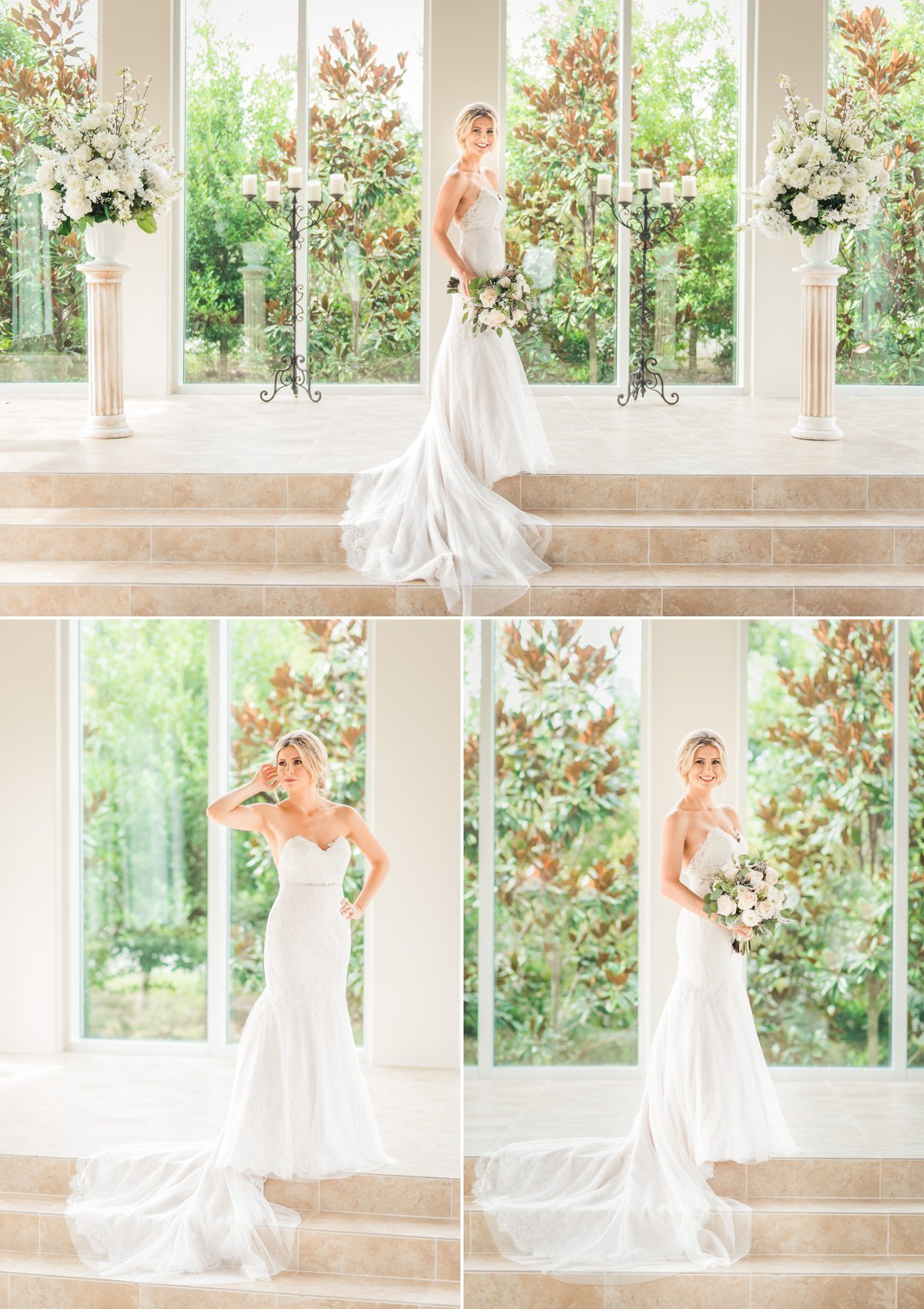 Ashton Gardens Bridal Portraits
