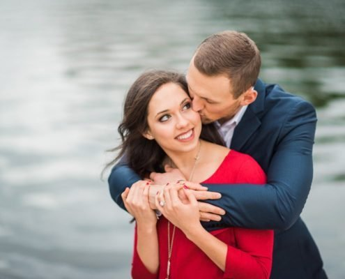Romantic Houston Engagement Portraits