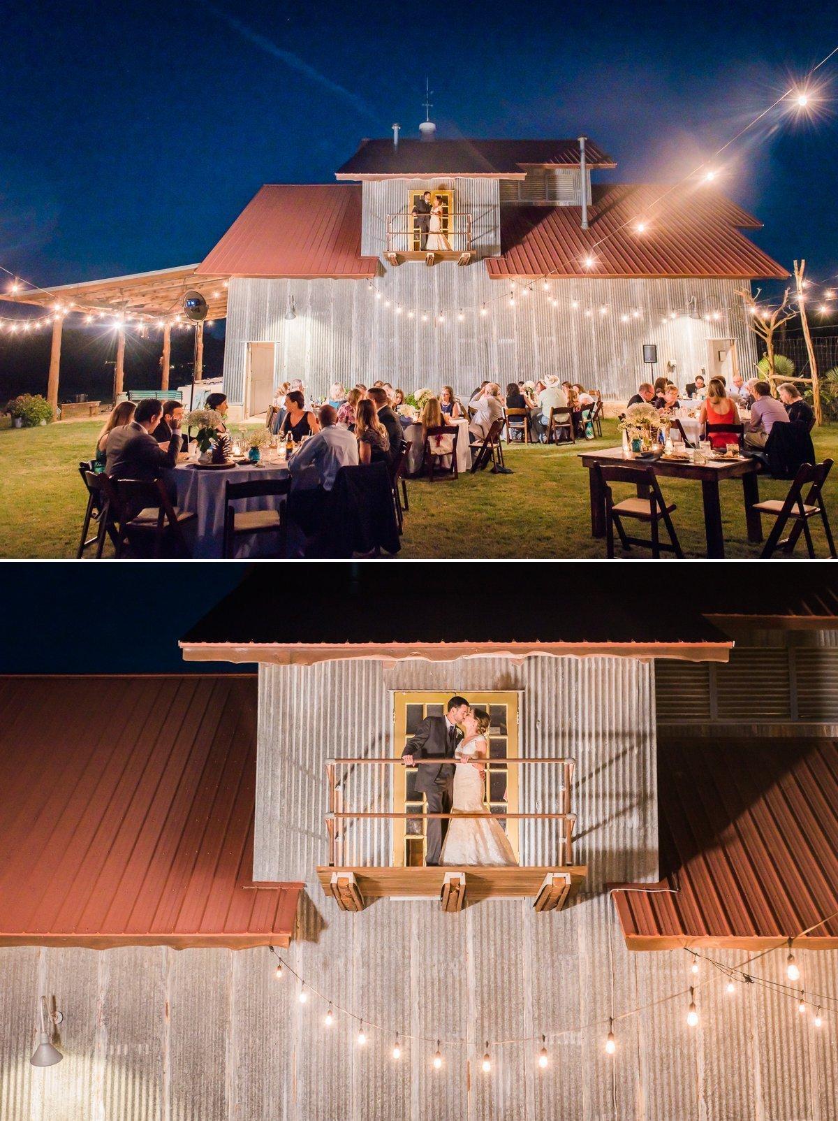 Montesino Ranch Wedding Night Photos