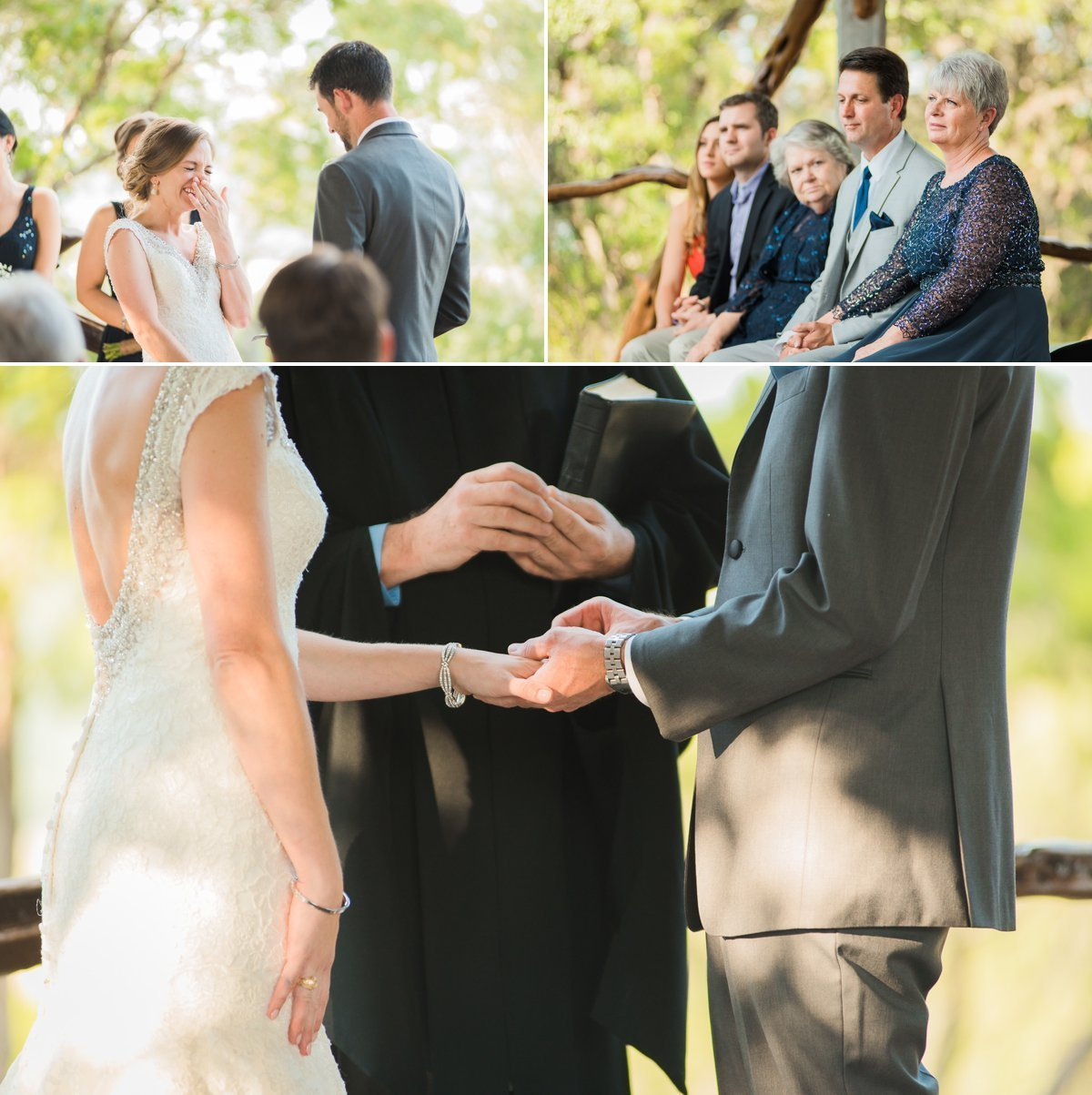 Montesino Ranch Wedding Exchange of Rings