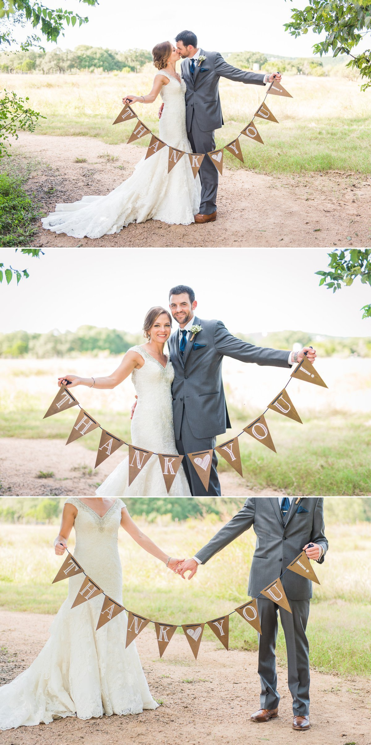 Montesino Ranch Wedding Thank you banner