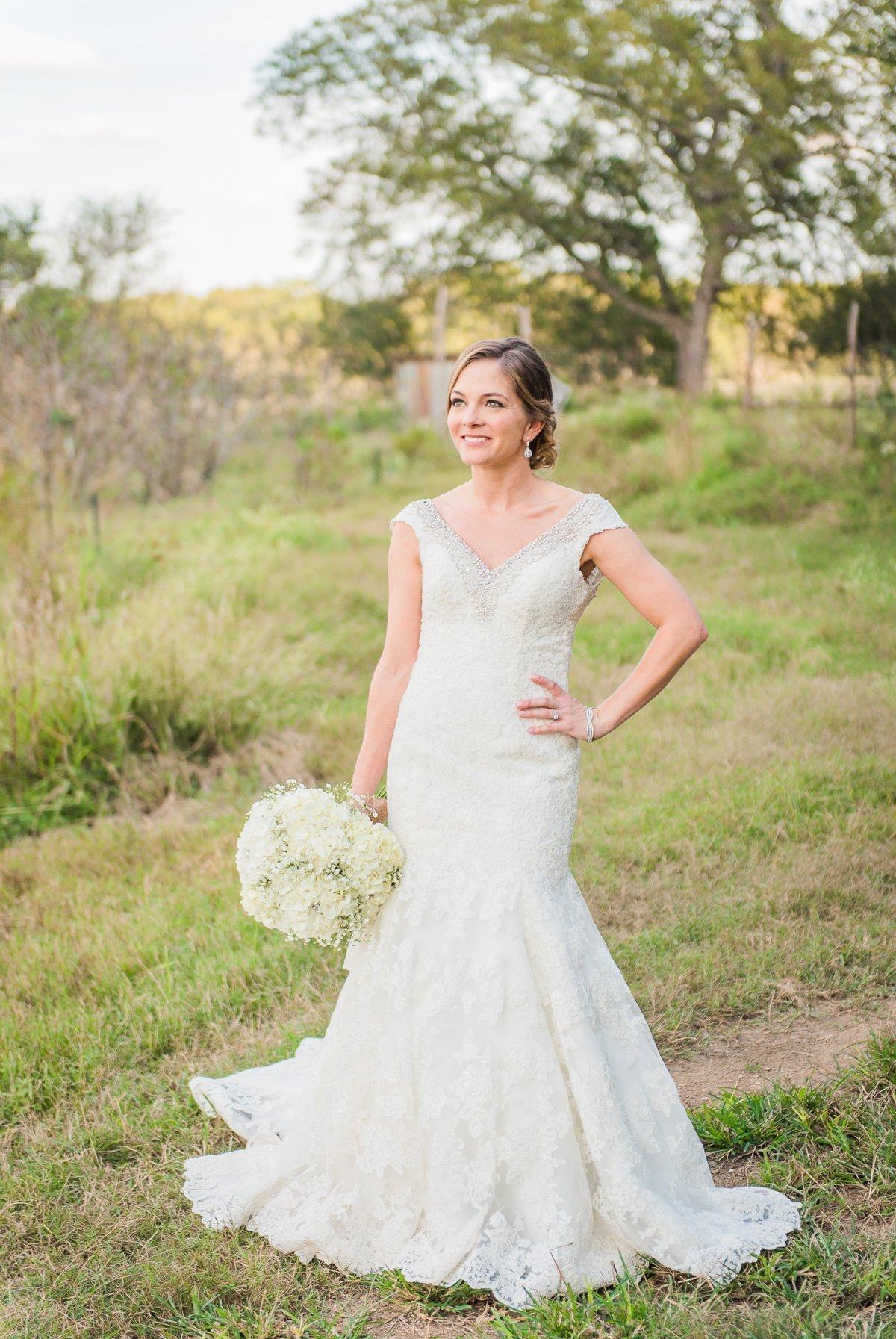 Montesino Ranch Wedding Bride