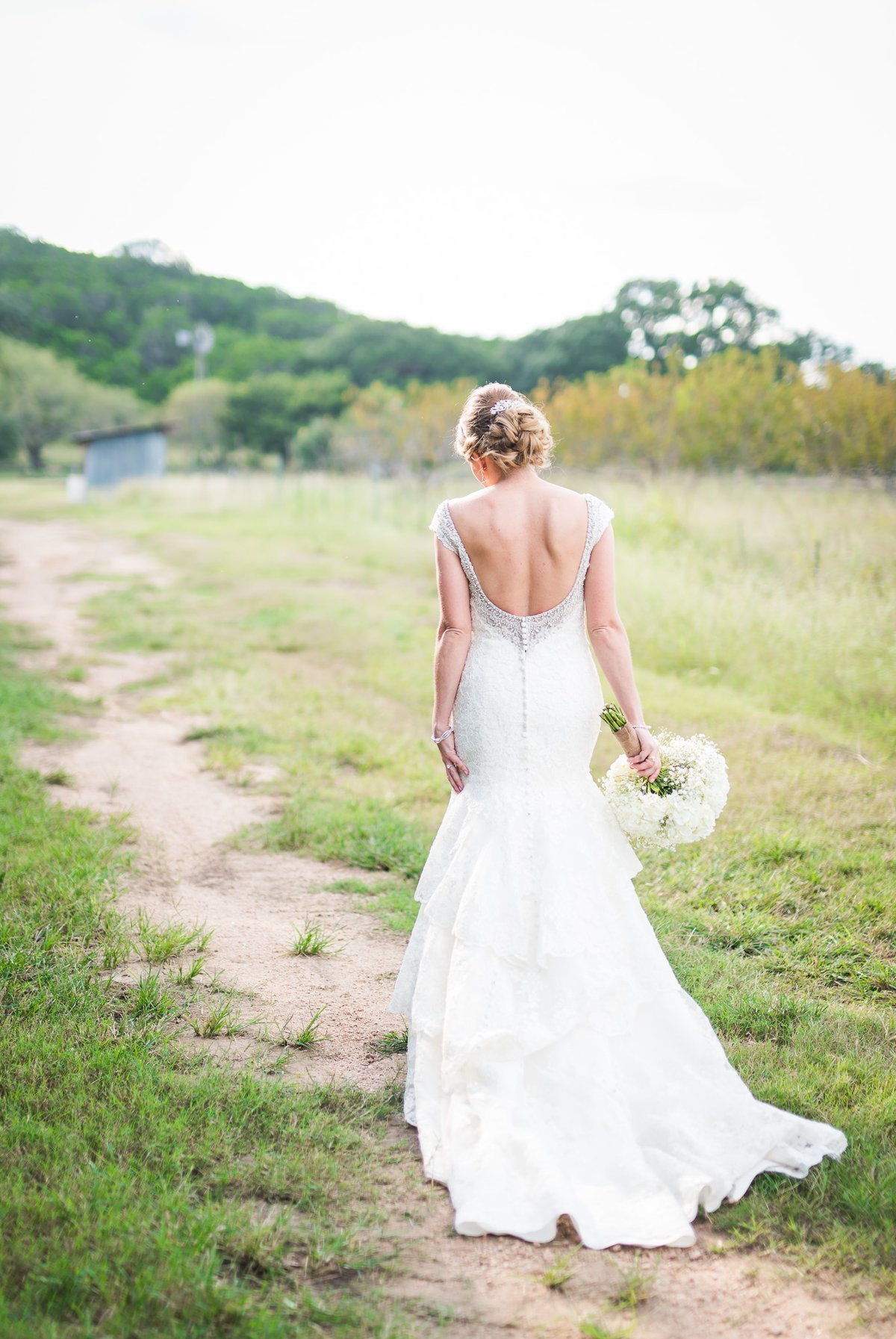 Montesino Ranch Wedding bride