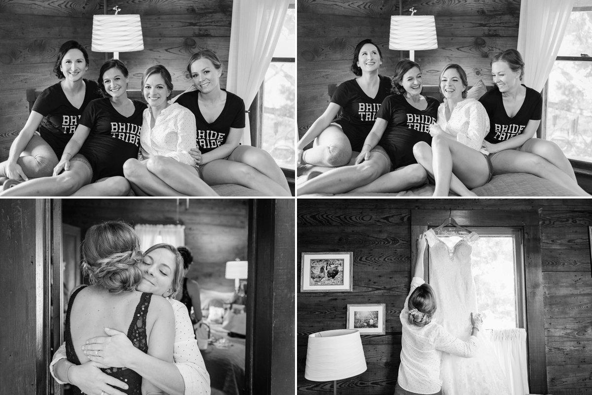Montesino Ranch Wedding bride getting ready