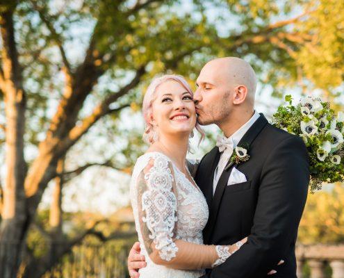 Kaeleigh-Ben Bridal Photos in Houston