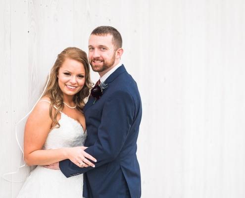 Beckendorff Farms Wedding Bride and Groom
