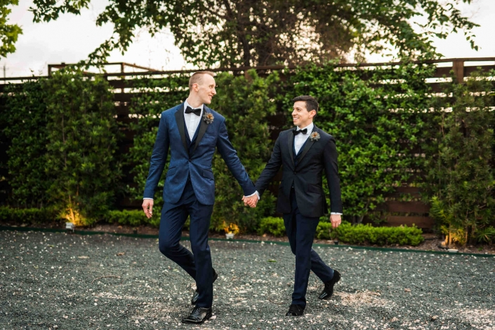 Peter & Matt's Modern Wedding at The Astorian Houston