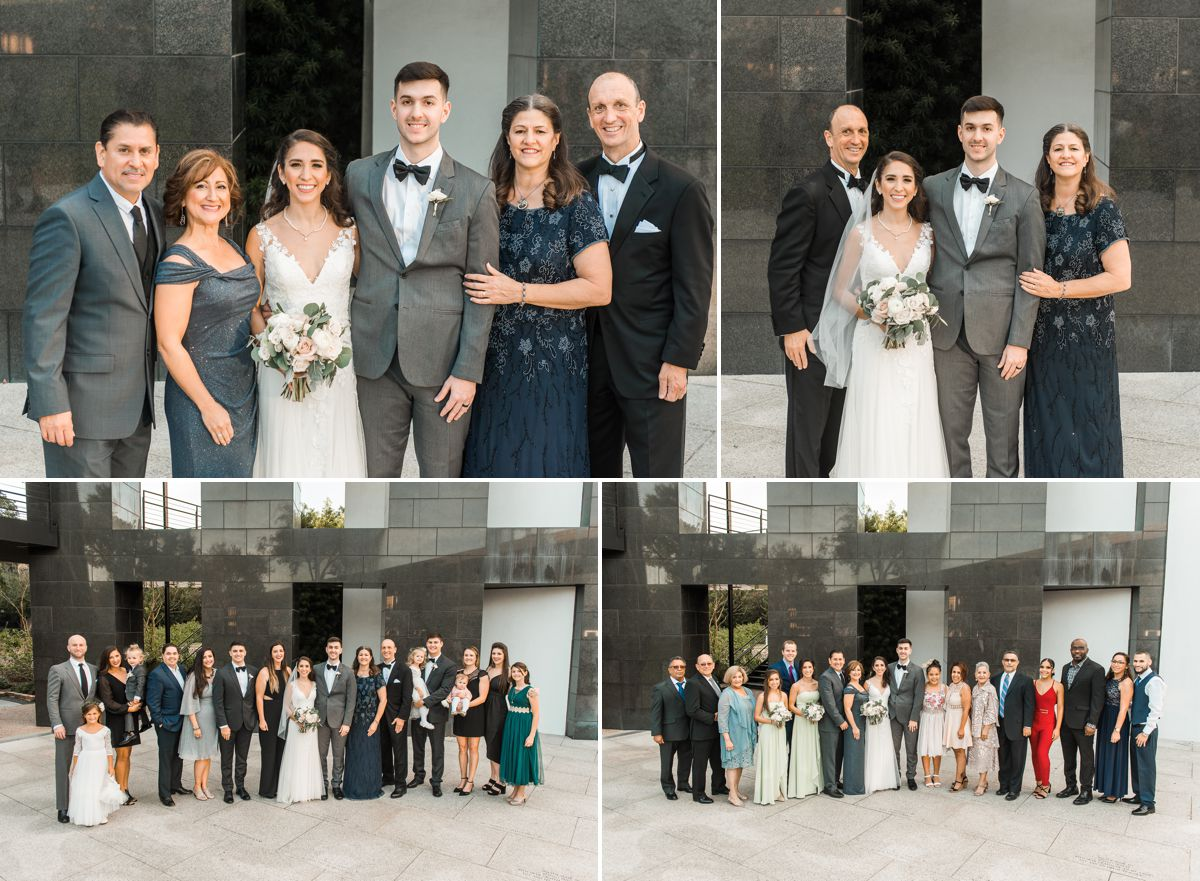Chapel St. Basil & Station 3 Wedding in Houston