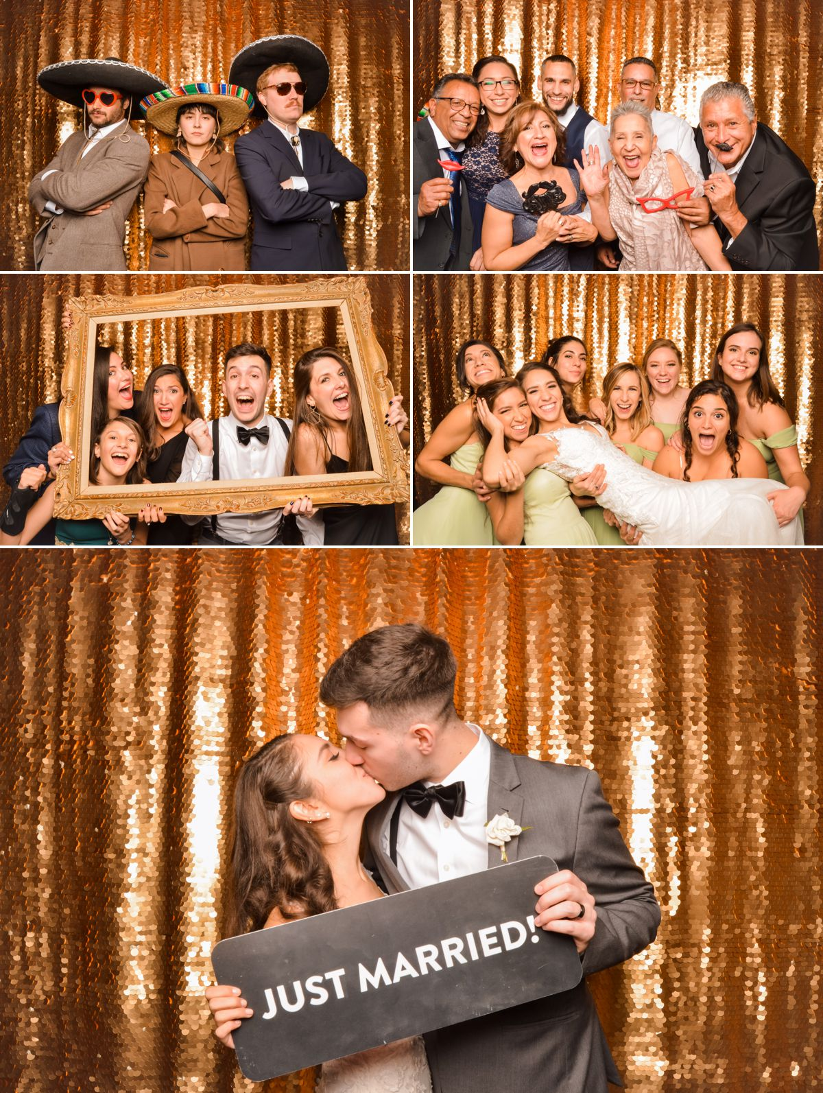 Station 3 Wedding Reception - Photo Booth - Houston Wedding Photographers