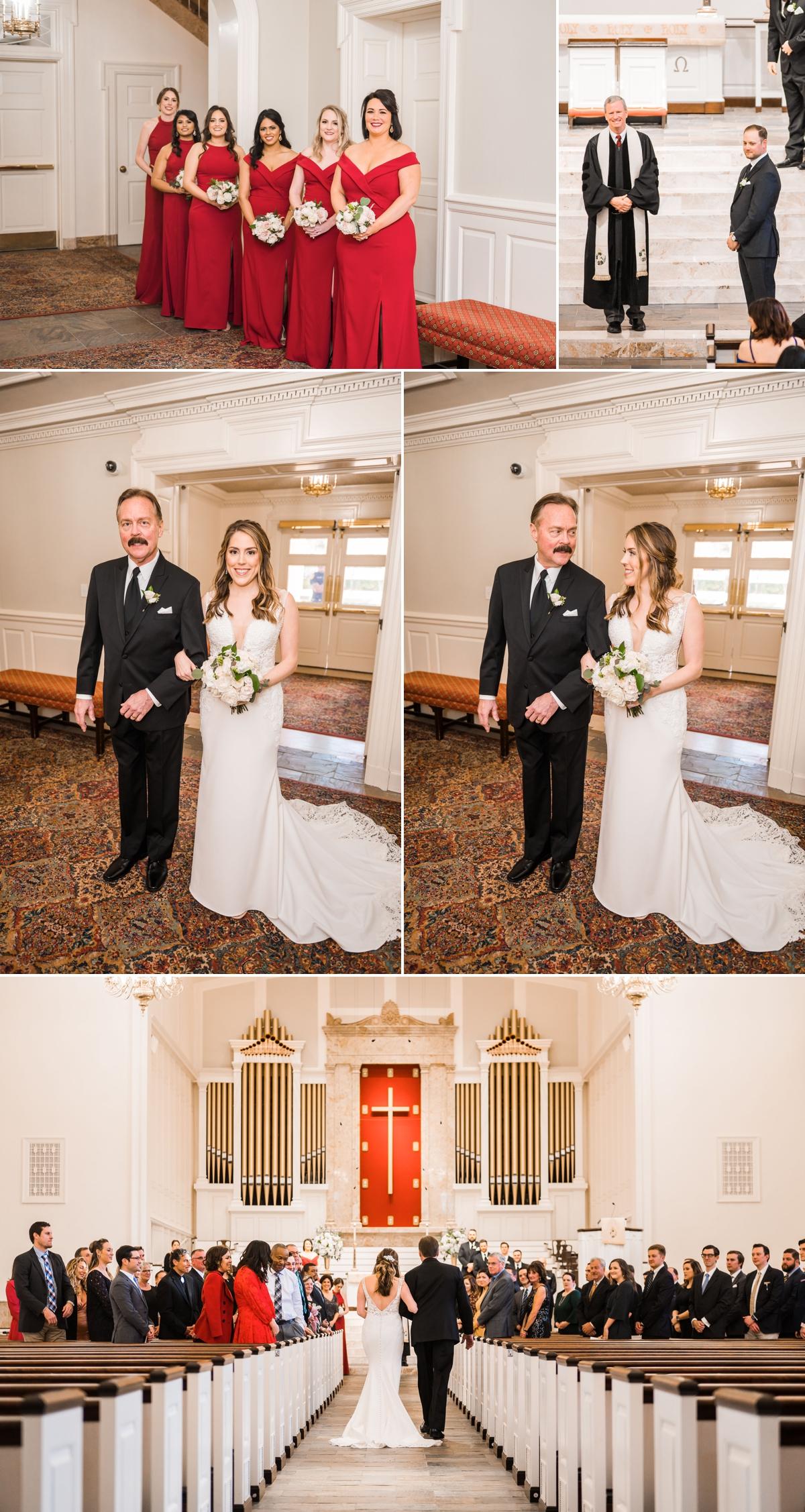 St. Luke's United Methodist Church Wedding in Houston
