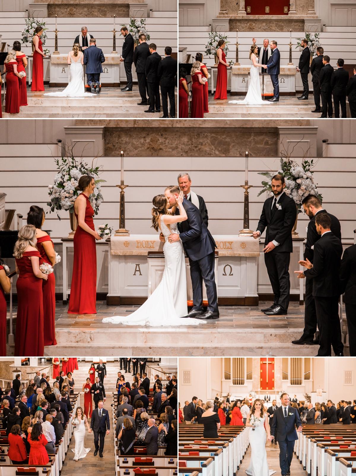 St. Luke's United Methodist Church Wedding Ceremony in Houston