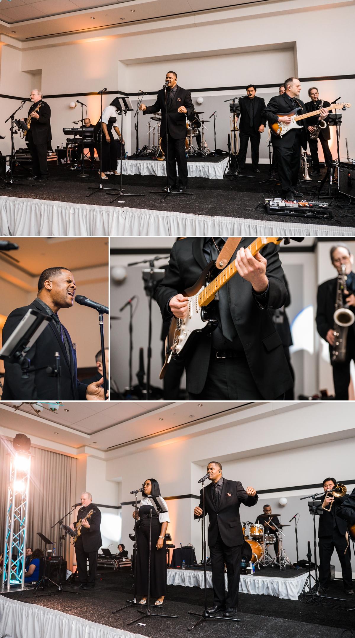 Doppelgänger Band at Houston Hotel Wedding