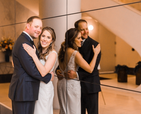 Catherine & Vince's Houston Hotel Wedding