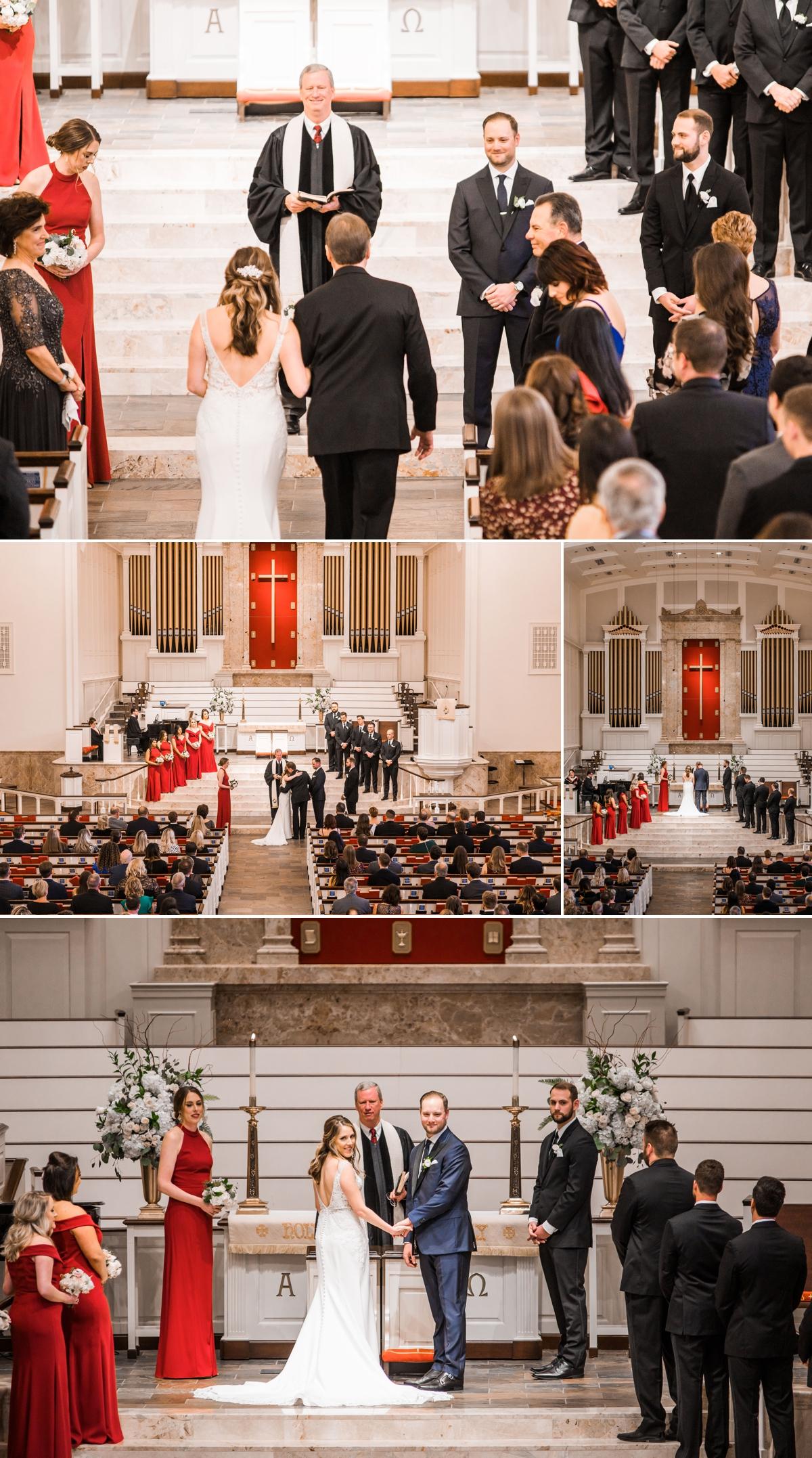 St. Luke's United Methodist Church Houston Wedding Ceremony
