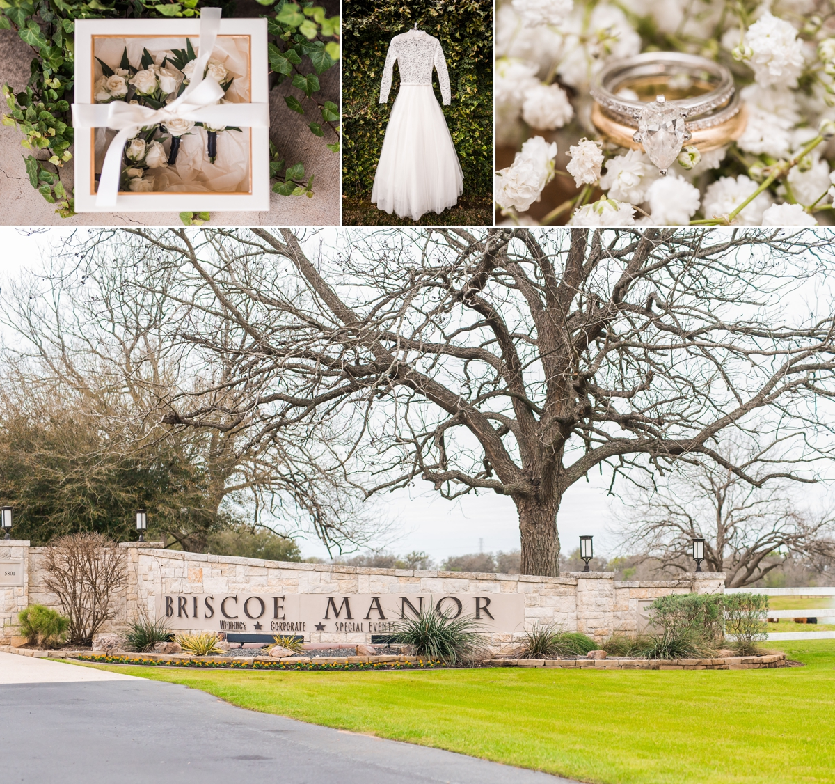 Briscoe Manor Wedding in Richmond Texas