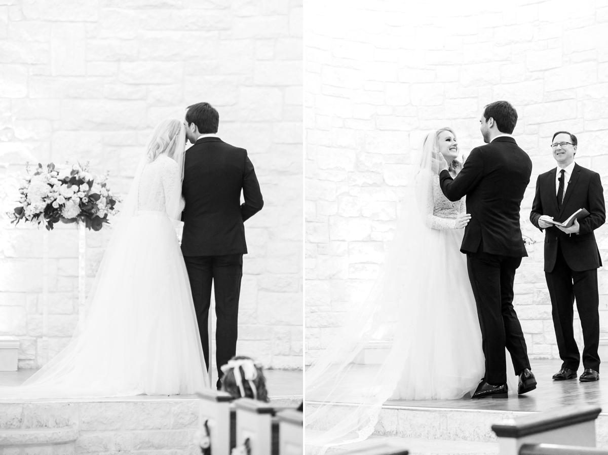 Briscoe Manor wedding ceremony