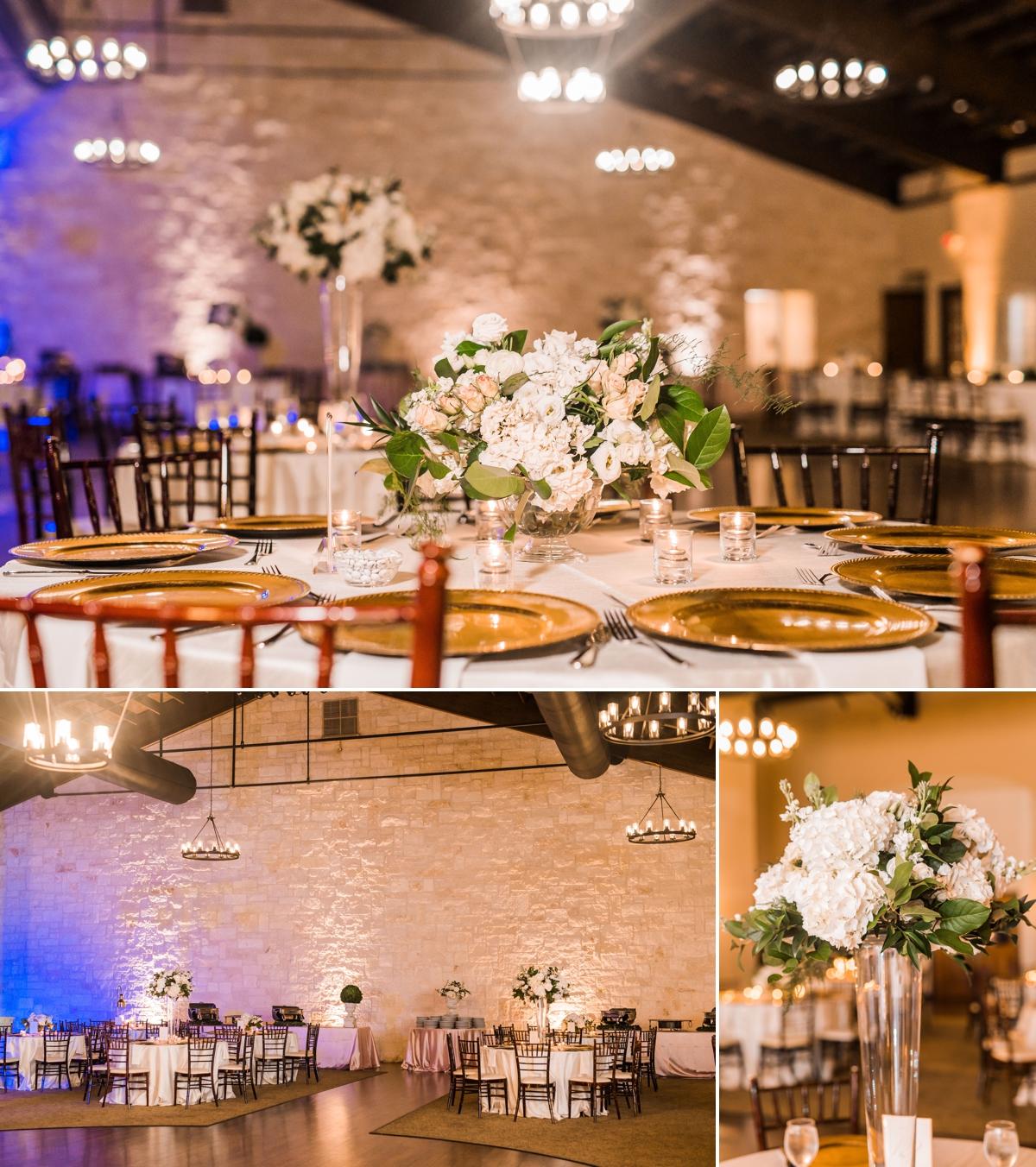 Romantic Briscoe Manor Wedding Reception
