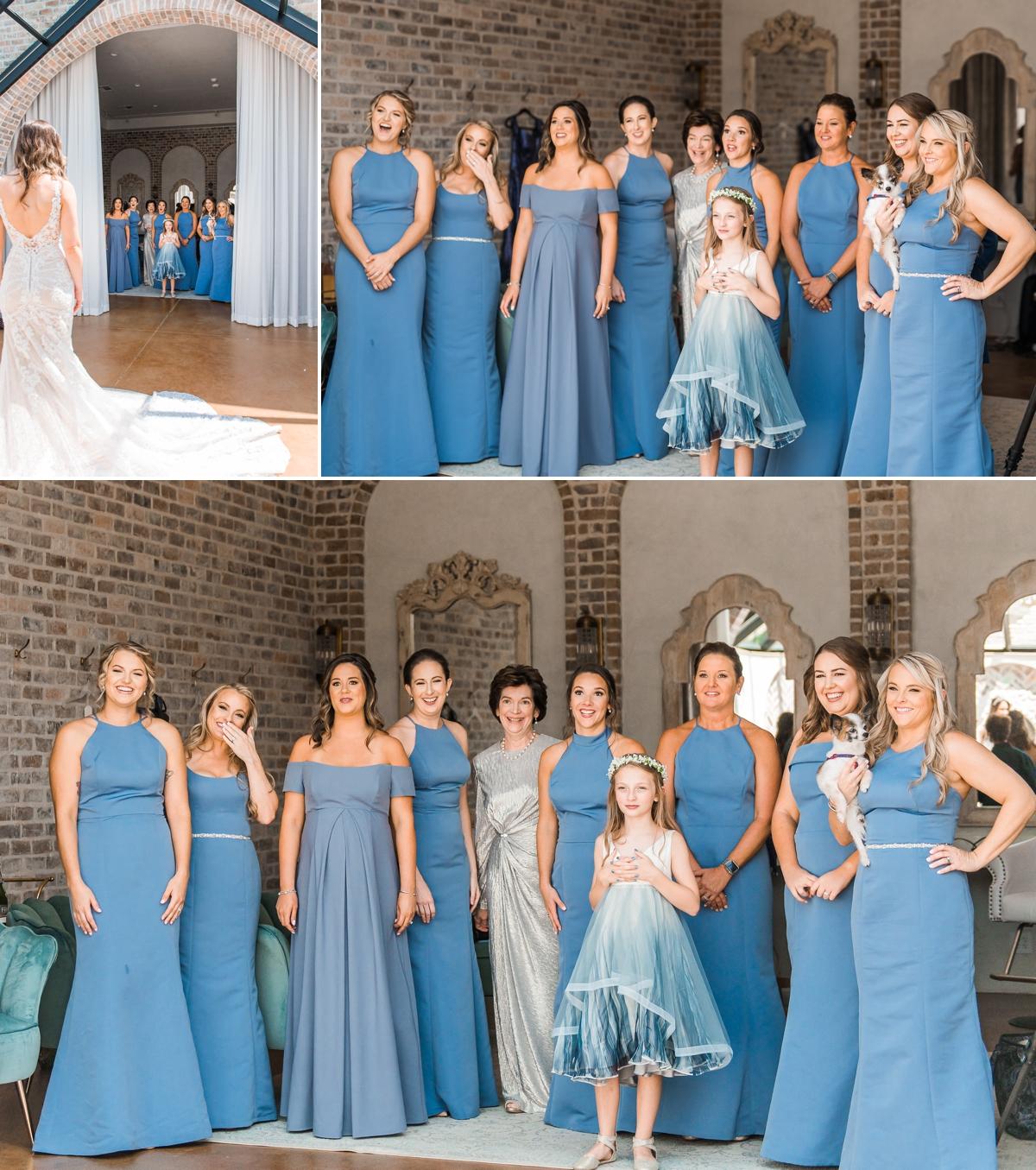 Bridesmaid Reveal at Iron Manor Houston