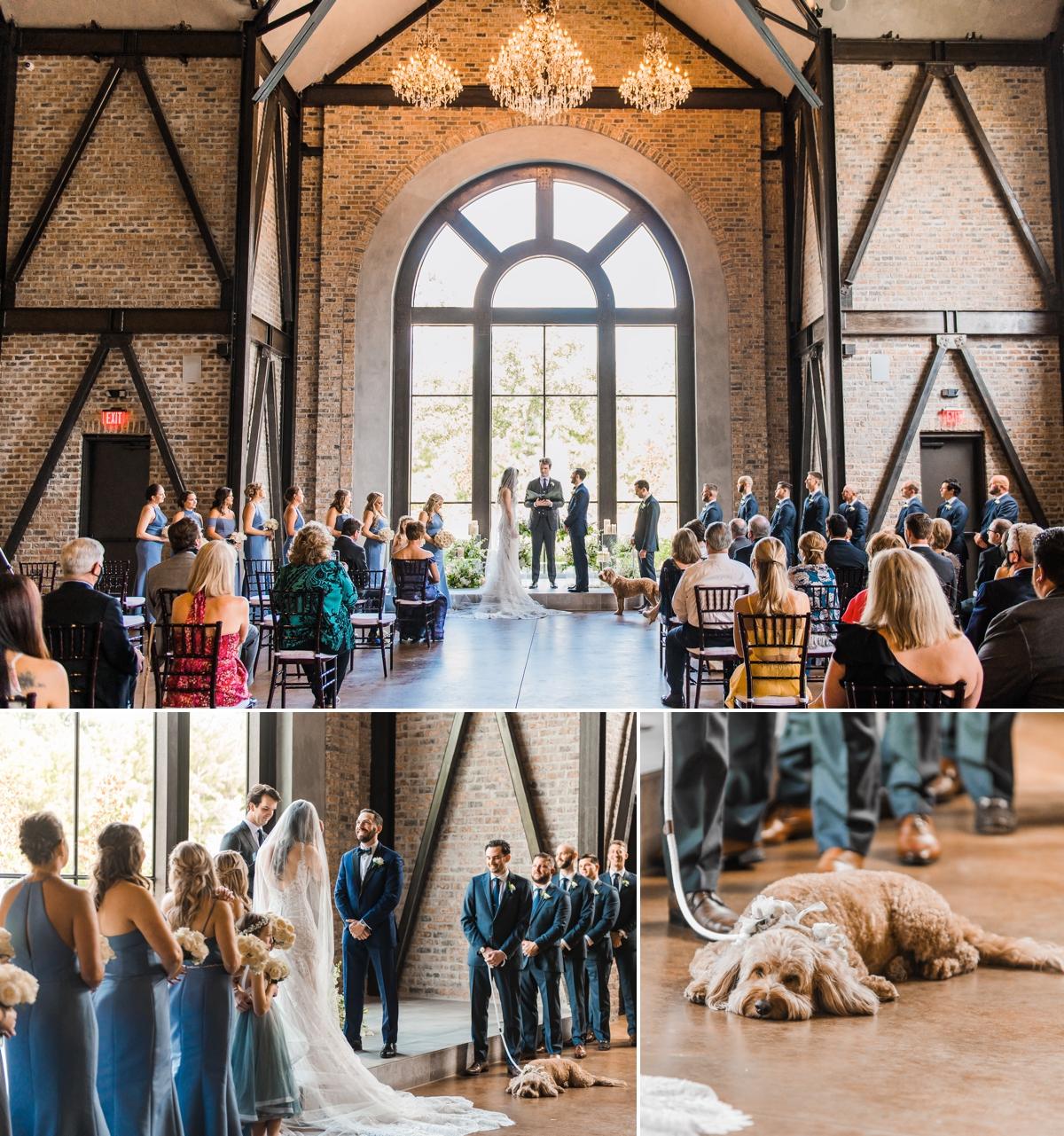 Wedding Ceremony at Iron Manor Iron Chapel
