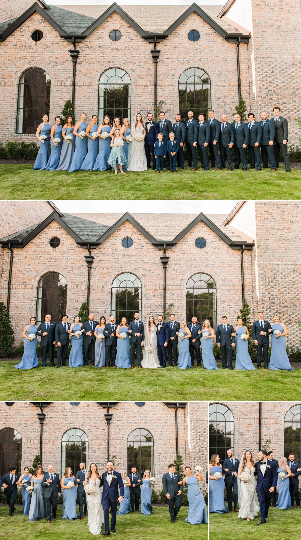 Wedding Party Portraits at Iron Manor Wedding