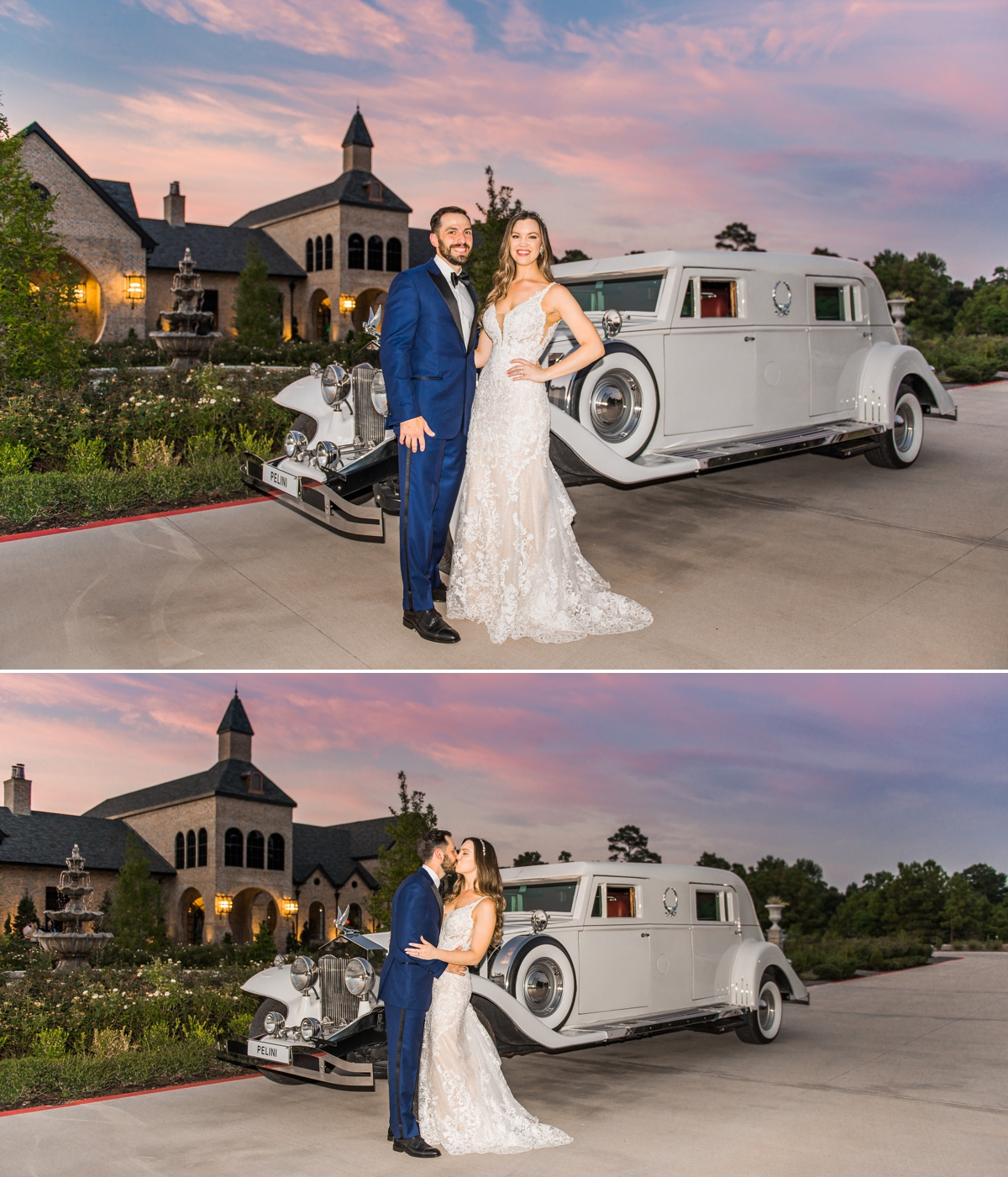 Sunset Portraits with getaway car